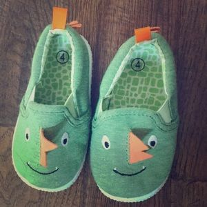 Other - Baby Boys slip on monster shoes